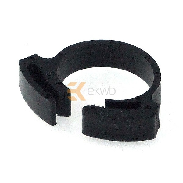 EK Water Blocks Tube Clamp PVC 17 - 19mm black