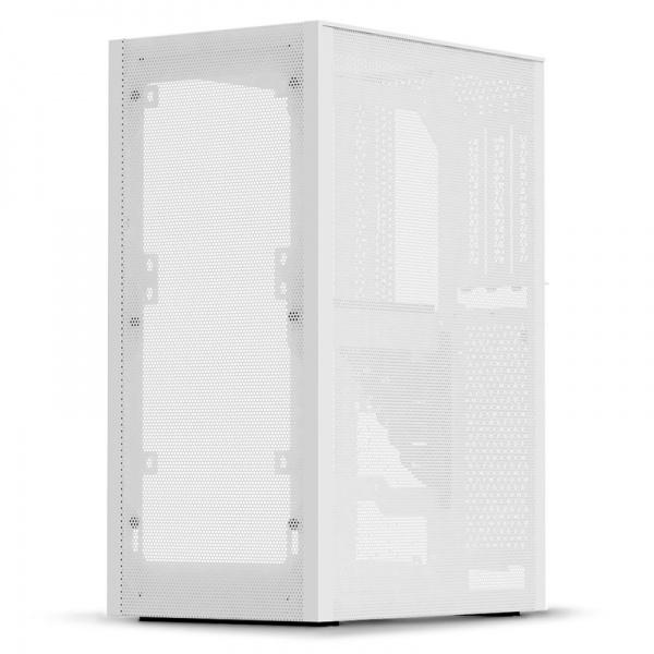 Ssupd Meshlicious full mesh mini-ITX case - white