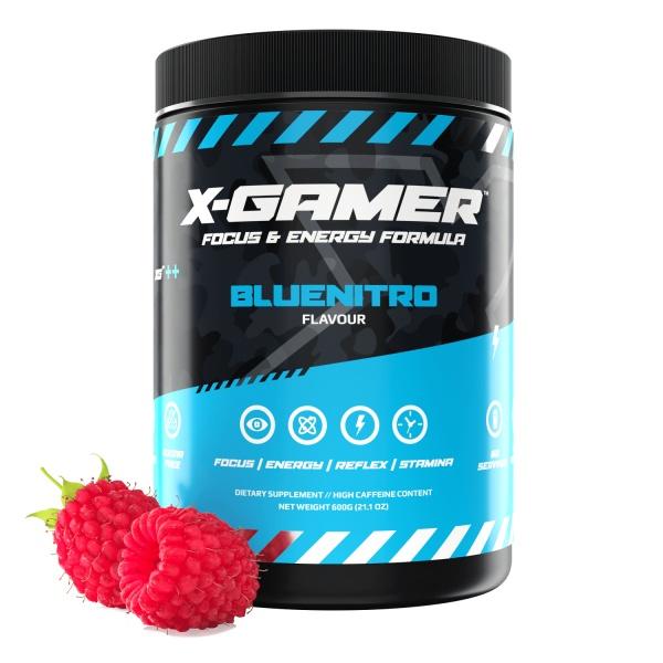 X-Gamer X-Tubz - Bluenitro, 600g