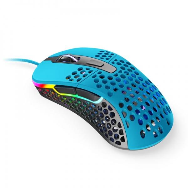 Xtrfy M4 RGB Gaming Mouse - light blue