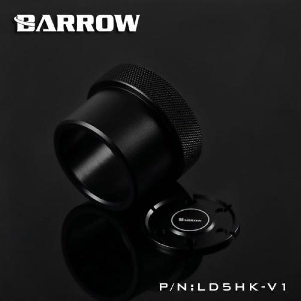 Barrow D5 Pump Mod Kit Screw Ring Top Kit - Black