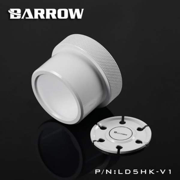Barrow D5 Pump Mod Kit Screw Ring Top Kit - White