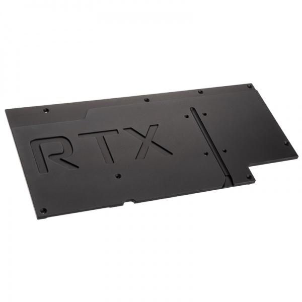 aqua computer kryographics NEXT RTX 3080/3090 Strix GPU Backplate - passive, black