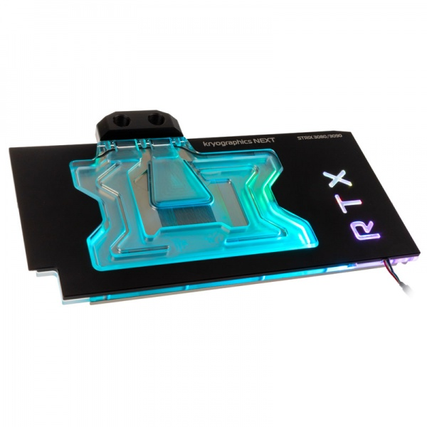 aqua computer kryographics NEXT RTX 3080/3090 Strix GPU Water Cooler - Nickel