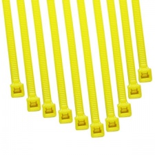 View Alternative product ModSmart 2.4 x 100mm Cable Ties 10 Pack - UV Yellow