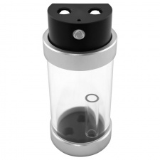View Alternative product Singularity Computers Protium reservoir 100mm - acetal, black / silver