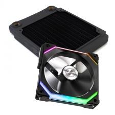View Alternative product WCUK Spec XSPC TX120 Black Radiator & Lian Li Fan Premium Kit