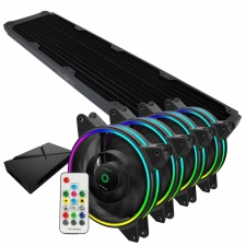 View Alternative product WCUK Spec XSPC TX480 Black Radiator & Game Max Fans With Controller Value Kit