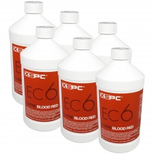 View Alternative product XSPC EC6 Premix Coolant - Blood Red (6 Pack)