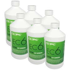 View Alternative product XSPC EC6 Premix Coolant - UV Green (6 Pack)
