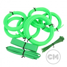 View Alternative product UV Green Cable Modders (U-HD) High Density Braid Sleeving Kit - Small