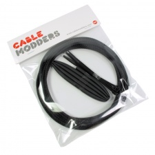 View Alternative product Jet Black Cable Modders High Density 4mm Braid Sleeving Kit - 3m