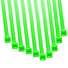 View Alternative product Cable Modders 4.8 x 200mm Cable Ties 10 Pack - UV Green
