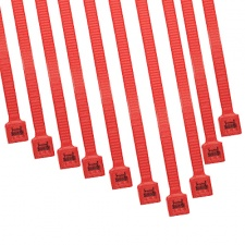View Alternative product Cable Modders 4.8 x 200mm Cable Ties 10 Pack - UV Red