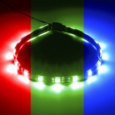 View Alternative product CableMod WideBeam Magnetic RGB LED Strip - 30cm / 15 LEDs