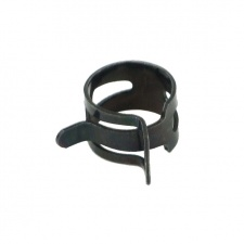 """View Alternative product PrimoChill Black Steel Spring Clips - 5/8"""" OD"""