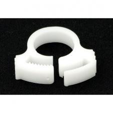 """View Alternative product PrimoChill White PVC Hose Clip 3/4"""" OD"""