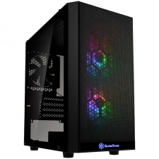 View Alternative product Silverstone PS15 Pro Micro-ATX case, ARGB, tempered glass - black