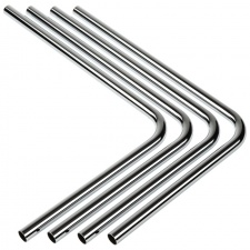 View Alternative product BitsPower Brass hard tube 14mm OD, 220x300mm, 90 degrees - 4-pack, silver