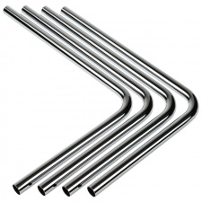 View Alternative product BitsPower Brass hard tube 16mm OD, 220x300mm, 90 degrees - 4-pack, silver