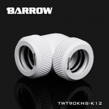 View Alternative product Barrow 12mm OD - Twin Seal Hard Tube 90 Degree Compression Fitting - White