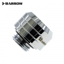 View Alternative product Barrow G1/4 - 14mm OD Twin Seal Hard Tube Compression Fitting (Smooth) - Shiny Silver