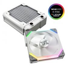 View Alternative product WCUK Spec HWL Black Ice Nemesis GTX120 White Radiator & Lian Li Fan Premium Kit