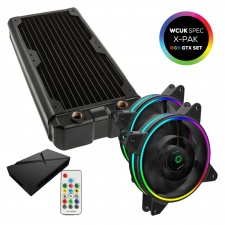 View Alternative product WCUK Spec HWL Black Ice Nemesis GTX240 Black Radiator & Game Max Fans with Controller Value Kit