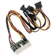 View Alternative product Akasa PE150-05 ATX adapter, DC-to-DC, with 4-pin power DIN - 150 watts