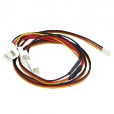 View Alternative product 3pin Molex (12V) to 4x 3pin Molex (12V) Adaptor Cable