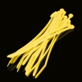 ModSmart 2.4 x 100mm Cable Ties 10 Pack - UV Yellow