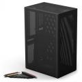 Ssupd Meshlicious Full Mesh PCIE 4.0 Edition Mini-ITX Case - Black