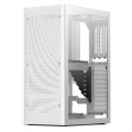Ssupd Meshlicious Mini-ITX Case - Tempered Glass, white