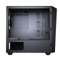 Cougar MG130-G Compact Micro-ATX Gaming Case with Glass Side Window - Black