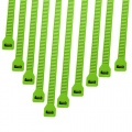 Cable Modders 2.4 x 100mm Cable Ties 10 Pack - Green