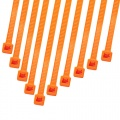 Cable Modders 2.4 x 100mm Cable Ties 10 Pack - UV Orange