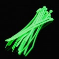 Cable Modders 4.8 x 200mm Cable Ties 10 Pack - UV Green