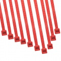 Cable Modders 4.8 x 200mm Cable Ties 10 Pack - UV Red