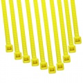 Cable Modders 4.8 x 200mm Cable Ties 10 Pack - UV Yellow