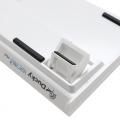 Ducky White One2 Mini RGB Backlit Speed Silver Cherry MX Switch Mechanical Keyboard