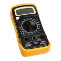 InLine multimeter with temperature sensor and transistor measurement