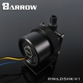 Barrow D5 Pump Mod Kit Screw Ring Top Kit - Silver
