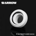 Barrow G1/4 - 14mm OD Mini Hard Tube Push Fitting - White